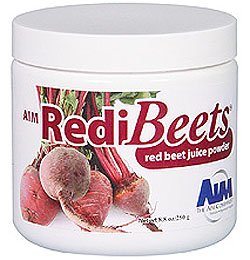 Beet juice - available in powder or in caplets